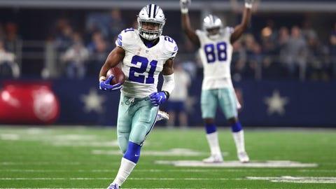 Dallas Cowboys -- Ezekiel Elliott, RB