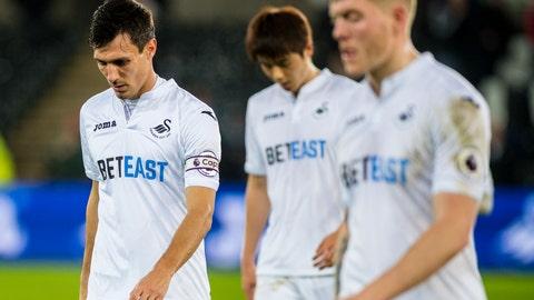 Swansea, still a disaster