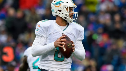 New England Patriots at Miami Dolphins, 1 p.m. CBS (707)