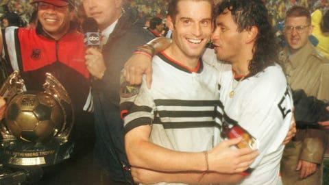 1996: D.C. United 3, LA Galaxy 2