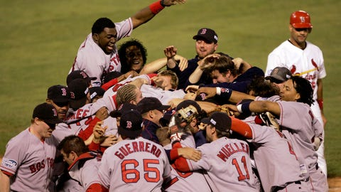 2004 -- Boston Red Sox