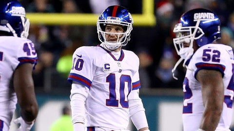 New York Giants (last week: 8)