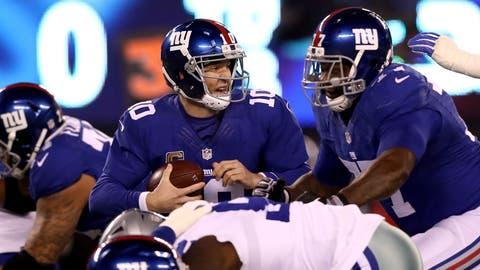 NFC #5 seed: New York Giants (9-4)