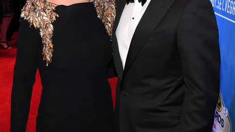 Jamie McMurray and wife Christy Futrell