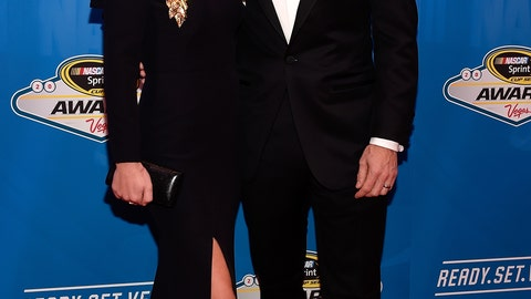Jamie McMurray and wife Christy