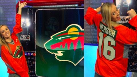 Jamie Hersch, NHL Network host