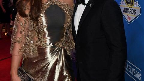 Jeff Gordon and wife Ingrid Vandebosch