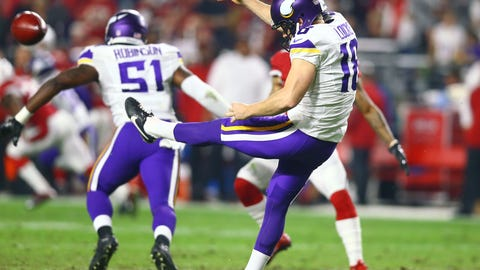 Jeff Locke, Minnesota Vikings kicker