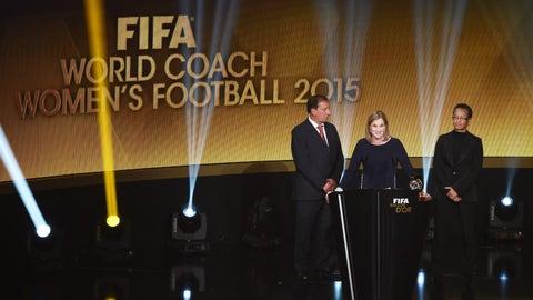 The Best FIFA Women's Coach 2016