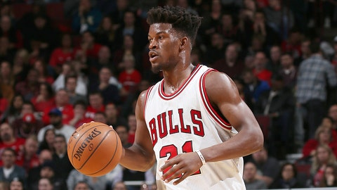 Jimmy Butler is just sixth among frontcourt players despite having a career year
