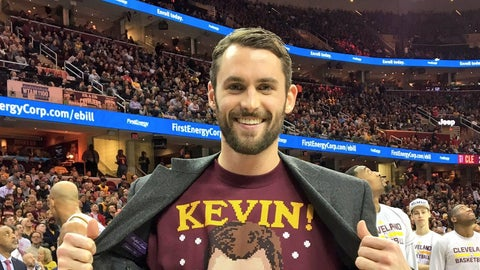 Frontcourt: Kevin Love, Cleveland Cavaliers