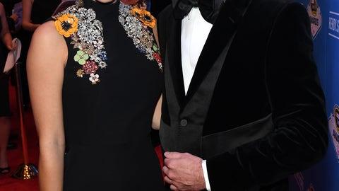 Kurt Busch and wife, Ashley
