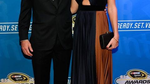 Kyle Larson and girlfriend Katelyn Sweet