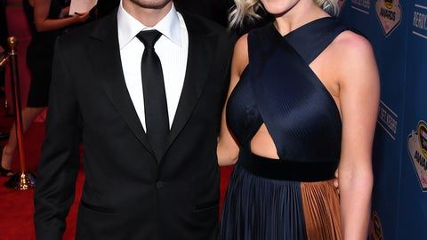 Kyle Larson and girlfriend Katelyn Sweet