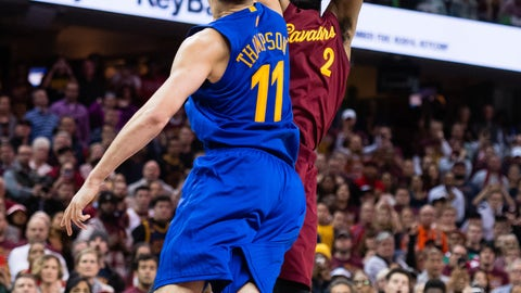 Kyrie Irving hits another game-winner to beat the Warriors on Christmas Day