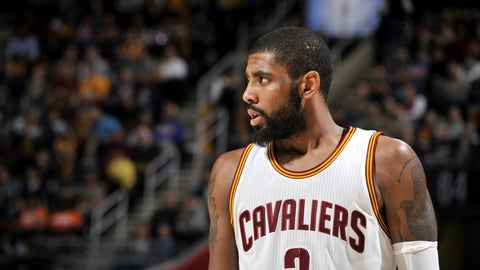 Guard: Kyrie Irving, Cleveland Cavaliers