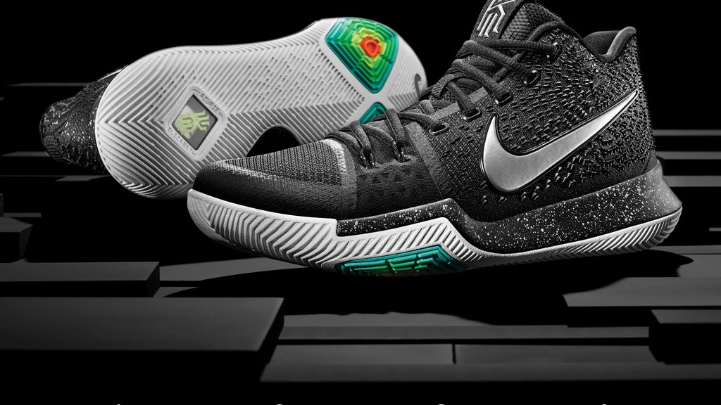 Kyrie Irving unveils his latest