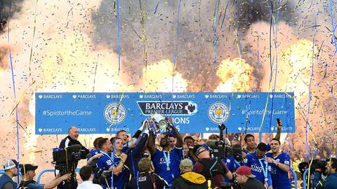 Premier League, Leicester City clinches