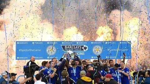 Premier League, Leicester City clinches