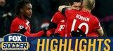 Lewandowski free kick gives Bayern lead vs. Atletico | 2016-17 UEFA Champions League Highlights