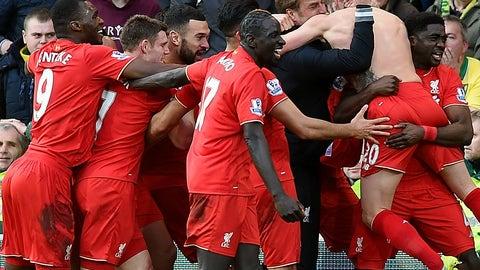 Jan. 23rd - Norwich 4, Liverpool 5