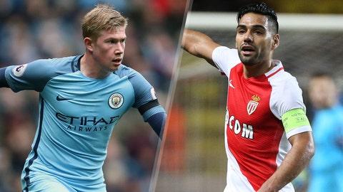 Manchester City vs. Monaco