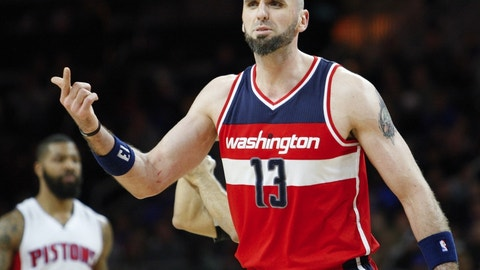 Marcin Gortat, C, Washington Wizards -- 230