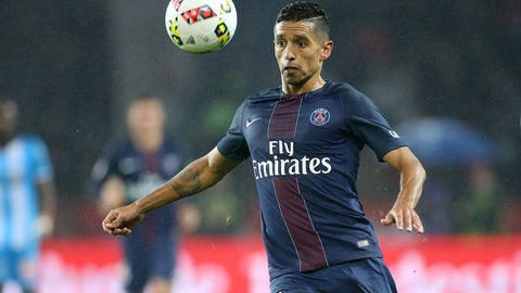 DEF: Marquinhos, PSG (€47 million)