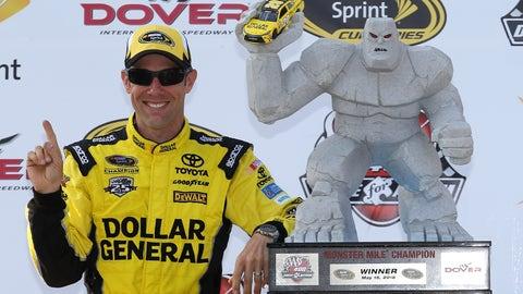 Defending race winner