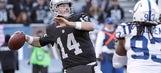 Why the Matt McGloin Raiders Aren't Sunk