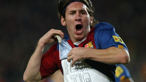 March 10, 2007 -- Messi makes his mark