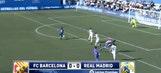 Watch Barcelona score 8 seconds into mini El Clasico vs. Real Madrid