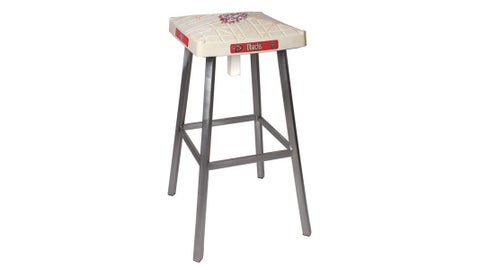 D-backs Game-Used-Base Stool from Tokens & Icons