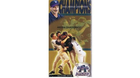 2001 D-backs World Champions Video (VHS)