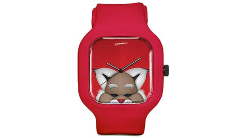 Baxter the Bobcat Minimalist Watch from Sparo