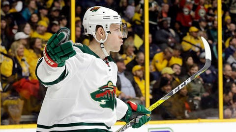 Charlie Coyle, Wild forward (⬆ UP)