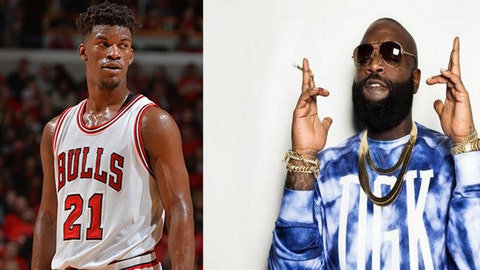 Jimmy Butler -- Rick Ross