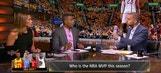 Nick Wright: LeBron still MVP ahead of Westbrook, Harden | THE HERD