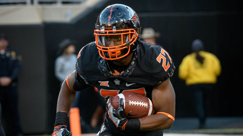 Big 12 Newcomer of the Year: Justice Hill, RB