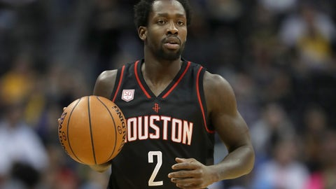 Bench: Patrick Beverley, G, Houston Rockets