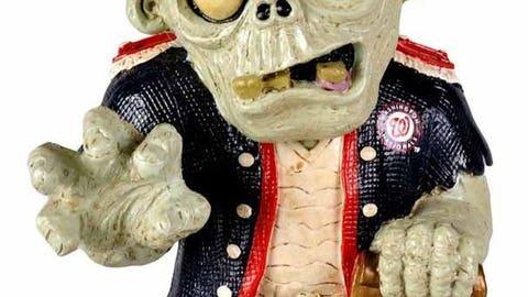 Washington Nationals Resin Zombie Figurine