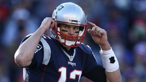 AFC #2 seed: New England Patriots (10-2)