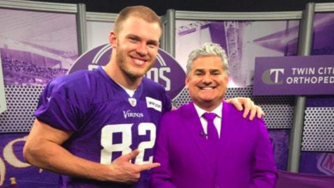 Paul Allen, Vikings play-by-play announcer