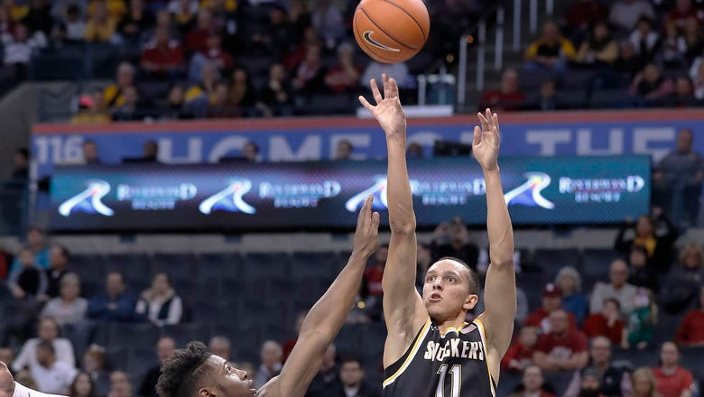 Shockers clinch share of MVC title with 86-67 win over Missouri State