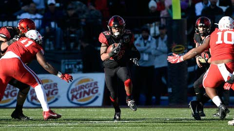 Donnel Pumphrey, RB, San Diego State