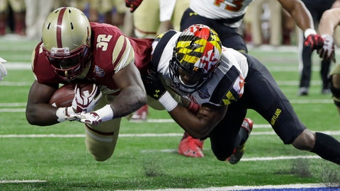 Boston College's offensive resurgence did not last long, but its defense held on