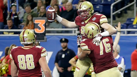 Three-Point Stance: Eagles' defense delivers late in Quick Lane Bowl