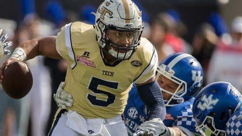 Three-Point Stance: Yellow Jackets' Dedrick Mills shows he's ready to be workhorse