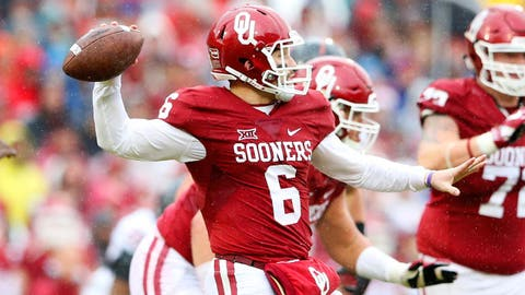 3. Baker Mayfield, QB Oklahoma, Jr.