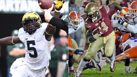 Orange Bowl: No. 6 Michigan vs. No. 11 Florida State